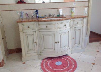 Salle de bain style plan de vasque granit