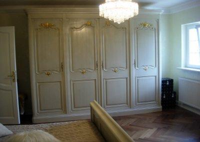 Armoire 4 portes Louis XV